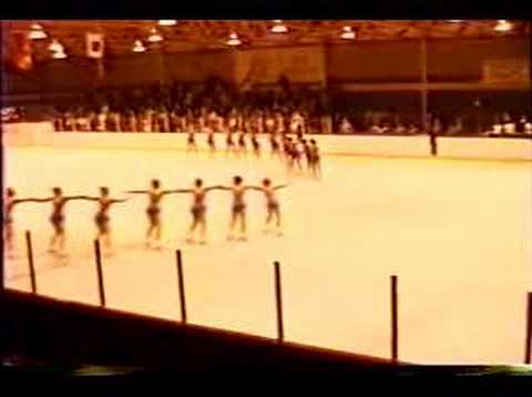 Haydenettes - 1986 Easterns synchronized precision skating