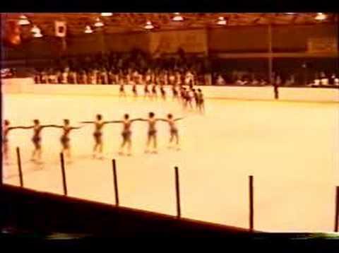 Haydenettes - 1986 Easterns synchronized precision skating