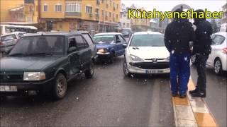 Laleli Kavşağında Trafik Kazası; 2 Yaralı