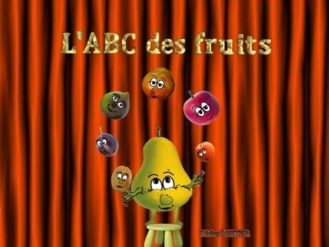 Chanson pour enfants - L'ABC des fruits - chanson éducative po