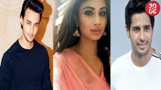 Aayush Sharma To Debut With Mouni Roy | Sidharth Malhotra Gets Cautious With His Next