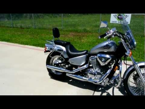 2006 Honda VLX600 DLX Shadow 600 Overview Review Walk Around