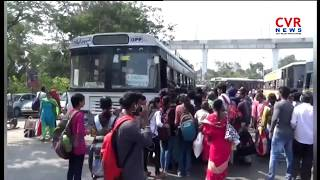 Huge Rush Railway And Bus Stations on Sankranti Festival Season in Telugu States | CVR News - CVRNEWSOFFICIAL