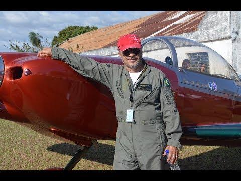 Entrevista Comandante Tito Lívio - Aeroclube de Aquidauana MS