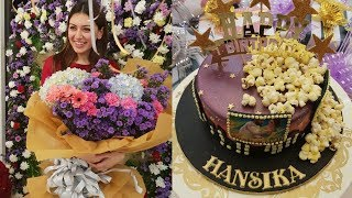 Actress Hansika 27th Birthday Celebrations With Family Photos - RAJSHRITELUGU