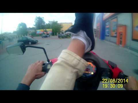 Malaguti F12 Wheelie | Stunt movie 2k14 | Poland