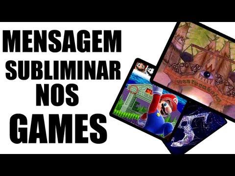 Mistério dos Games Mensagens Subliminares