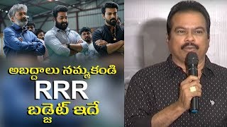 RRR Movie Budget Revealed By DVV Danayya | Ram Charan | Jr NTR | SS Rajamouli |VNXT Hotshot - MUSTHMASALA