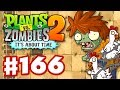 Plants vs. Zombies 2: It's About Time - Gameplay Walkthrough Part 166 - Big Bad Butte (iOS)