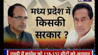 Madhya Pradesh Assembly Election 2018 | Cfore TSG Opinion Polls - ITVNEWSINDIA