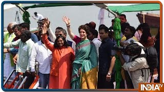 LS Election 2019: Priyanka Gandhi Begins 3-Day 'Ganga Yatra' From Prayagraj   Highlights - INDIATV