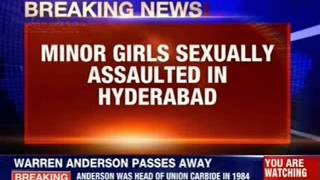 Minor girl sexually assaulted in Hyderabad - NEWSXLIVE