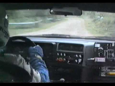 Stig Blomqvist - 1000 Lakes Rally 1988 - SS 1 Laajavuori - INCAR