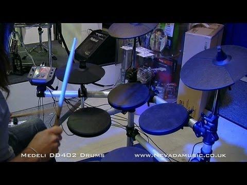 Medeli DD402 Electronic Drum Kit Demo - Nevada Music UK