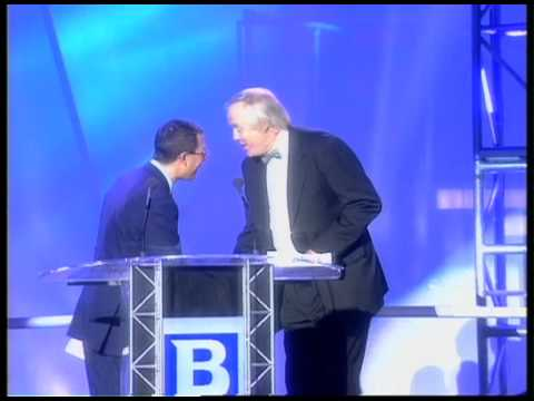 Bee Gees win Outstanding Contribution Award presented by Tim Rice | BRIT Awards 1997