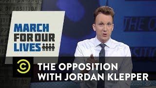 Adult-splaining NRA insult grammar to David Hogg - The Opposition w/ Jordan Klepper - COMEDYCENTRAL