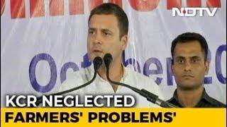 Rahul Gandhi Begins Telangana Campaign, Attacks PM Modi, KCR - NDTV