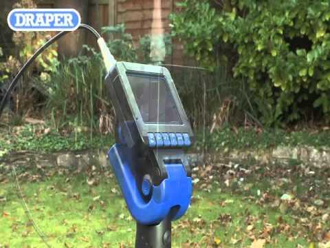 Draper Flexi Inspection Cameras From Power