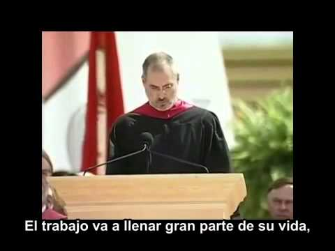 STEVE JOBS' 2005 Stanford University Speech (Spanish Subtitles)