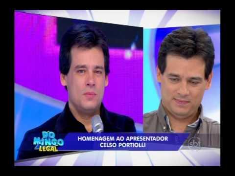 Domingo Legal (01/06/14) - Homenagem emocionante a Celso Portiolli