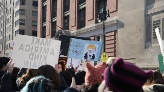 I Asked Women at the Women's March About Aziz Ansari - SLATESTER