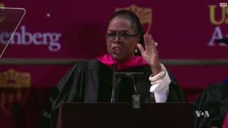 Messages to Graduates Touch on Strength, Integrity, Fearlessness, Courage - VOAVIDEO