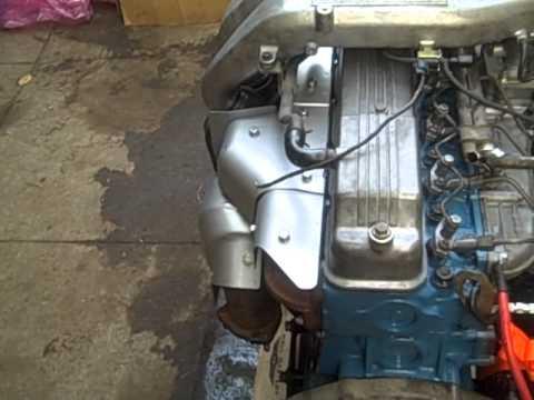 rebuilt hj61 12h-t diesel test run