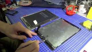 Ремонт iPad Air 2 - Замена стекла, как разобрать