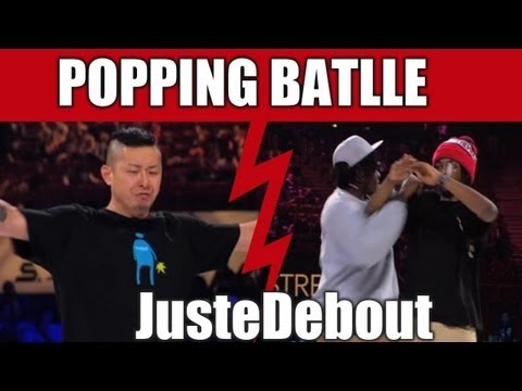 POPPING - Monsta Pop & Venom (Canada) vs Poppin J & Crazy Kyo (France) Final --