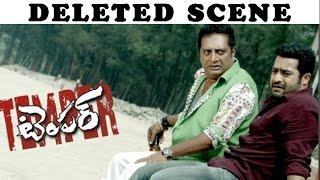 Deleted Scene 'Temper  - Jr Ntr, Prakash Raj | Sneak Peak - LEHRENTELUGU