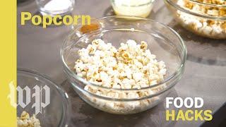 Mary Beth Albright's Food Hacks: DIY microwave popcorn and toppings - WASHINGTONPOST