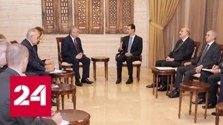 Российские представители обсудили урегулирование в Сирии с прези