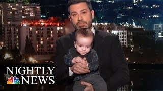 Jimmy Kimmel Makes Emotional Plea For CHIP | NBC Nightly News - NBCNEWS