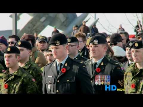 HD Media:2010 Remembrance Day in Calgary - The Military Museums