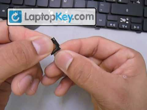 Repair Keyboard Key on Acer Aspire 5810 5536 5538 7736 5542 | Fix Laptop Installation Replace