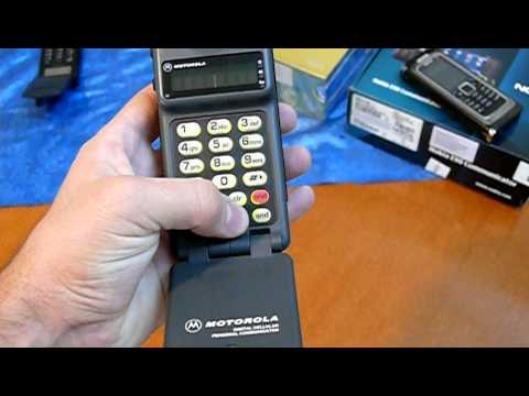 Collectible handset's:  Motorola MicroTAC-Digital personal communicator! *Year 1989*