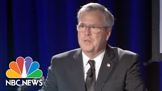 Jeb Bush On Mother Barbara's Passing: 'I'm So Blessed To Be Her Son' | NBC News - NBCNEWS
