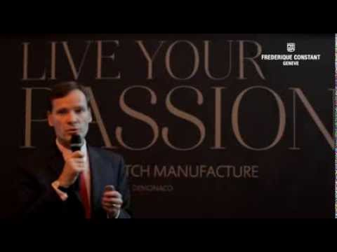 """LIVE YOUR PASSION -- BUILDING A WATCH MANUFACTURE"" TOGETHER WITH RETAIL PARTNER TOURNEAU"