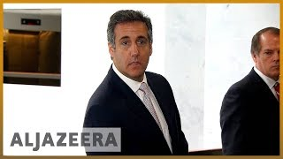 🇺🇸Trump's former lawyer Michael Cohen faces jail | Al Jazeera English - ALJAZEERAENGLISH