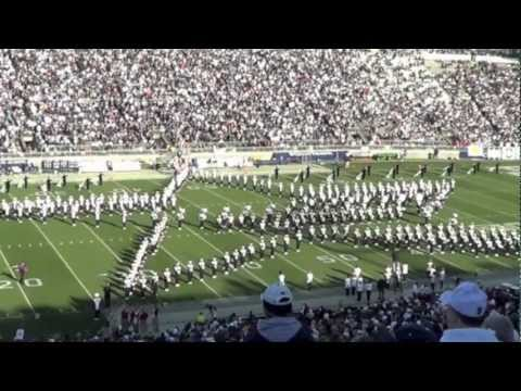 Penn State Blue Band 11/17/2012 vs. Indiana Patriotic Show