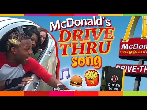 McDonalds Drive Thru Song by Todrick Hall Follow @toddyrockstar on Twitter!
