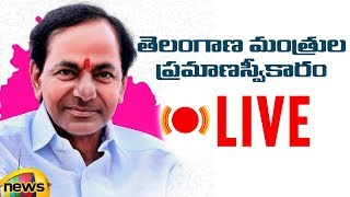 Telangana Cabinet Expansion 2019 LIVE | Telangana Ministers Oath Taking Ceremony | Mango News - MANGONEWS