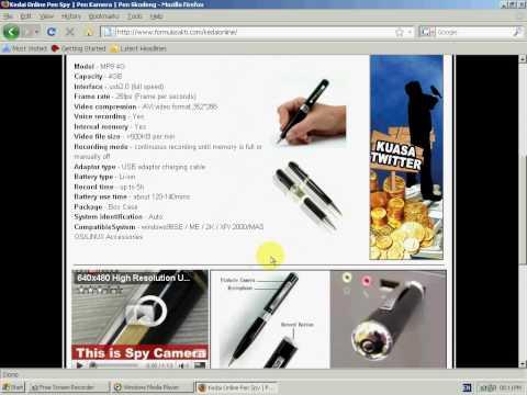 Video Kedai Online Pen Kamera | Beli Spy Pen | Cari Pen Skodeng