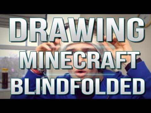 TDM Vlogs | DRAWING MINECRAFT BLINDFOLDED! | Episode 21