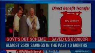 Government claims Direct Benefit Transfer scheme has helped save Rs 82,985 crore - NEWSXLIVE