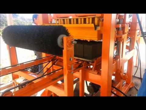 Maquina de fabricar bloco hidráulica 19-4042-1211