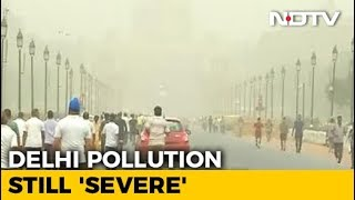 Cloud Of Dust Hangs Over Delhi For Fifth Day, Air Quality Worsens - NDTV