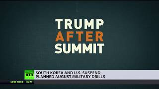 'War games' cancelled: US & South Korea call off military drills planned for August - RUSSIATODAY