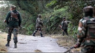 J&K: Heavy exchange of fire between terrorists and forces in Pulwama district - NEWSXLIVE