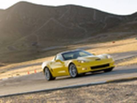 2011 Chevrolet Corvette Z06 Carbon Prototype One Lap at Willow